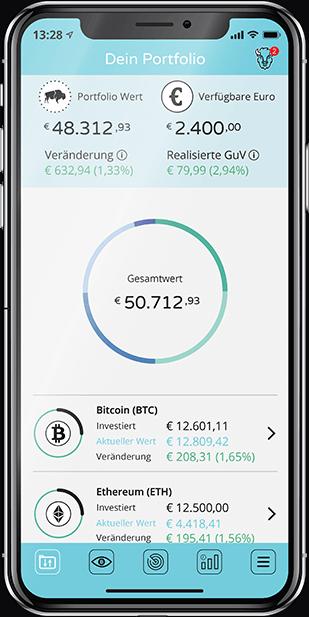 bitcoins handeln app
