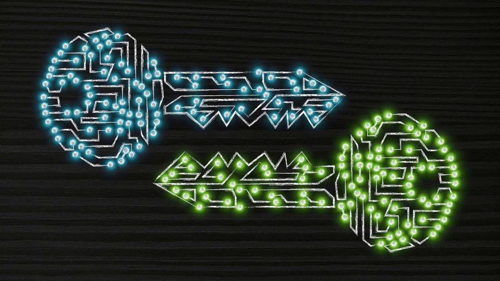 Kryptografie-Schlüssel