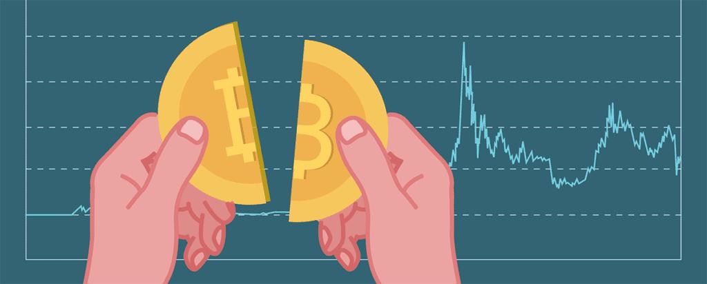 Bitcoin Halving Grafik
