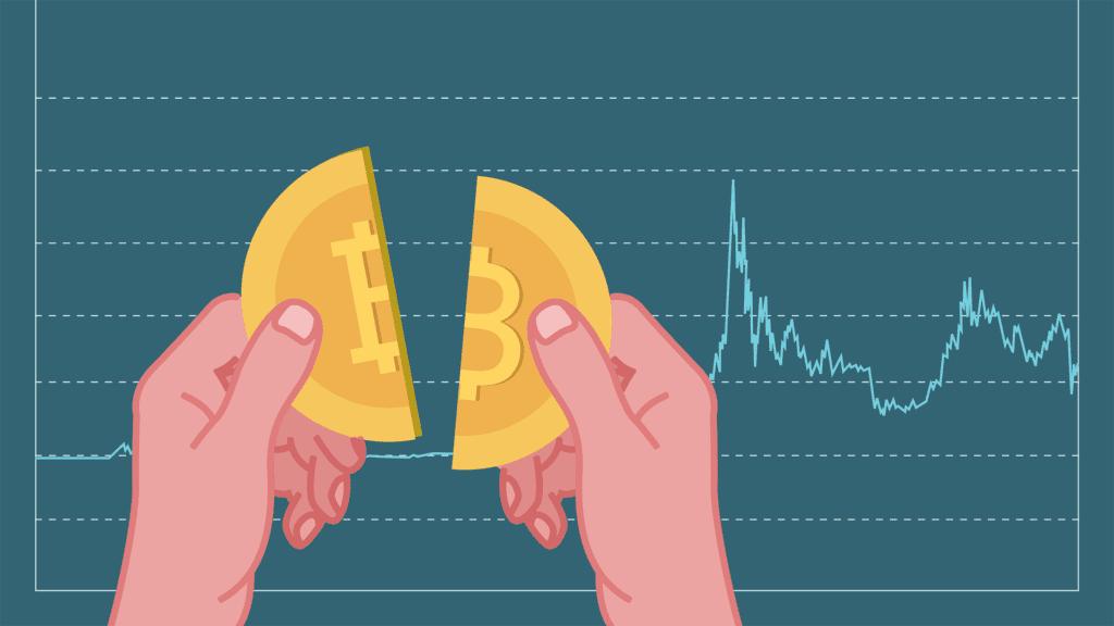 Grafik Bitcoin Halving