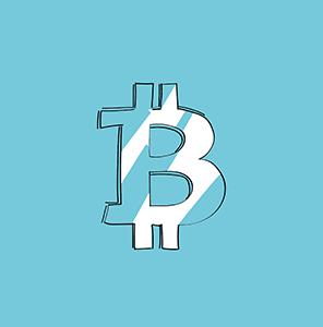 Heutiges Logo der Kryptowährung Bitcoin im Blogbeitrag zur Geschichte der Kryptowährungen.