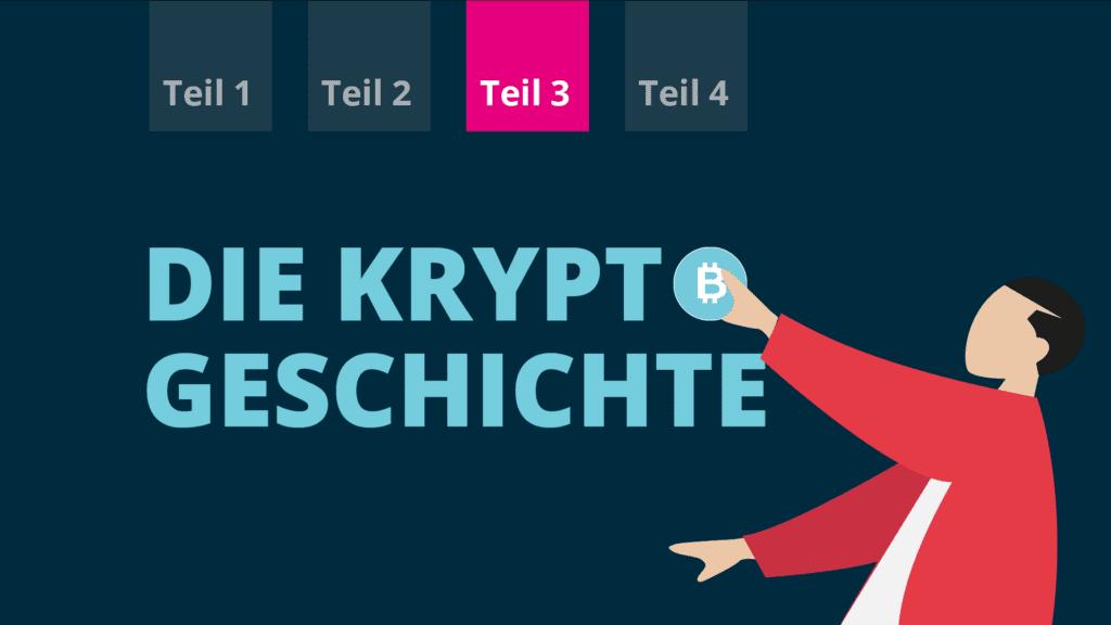 Blogtitelbild der kleinen Kryptogeschichte Teil 3 des BISON Blogs.