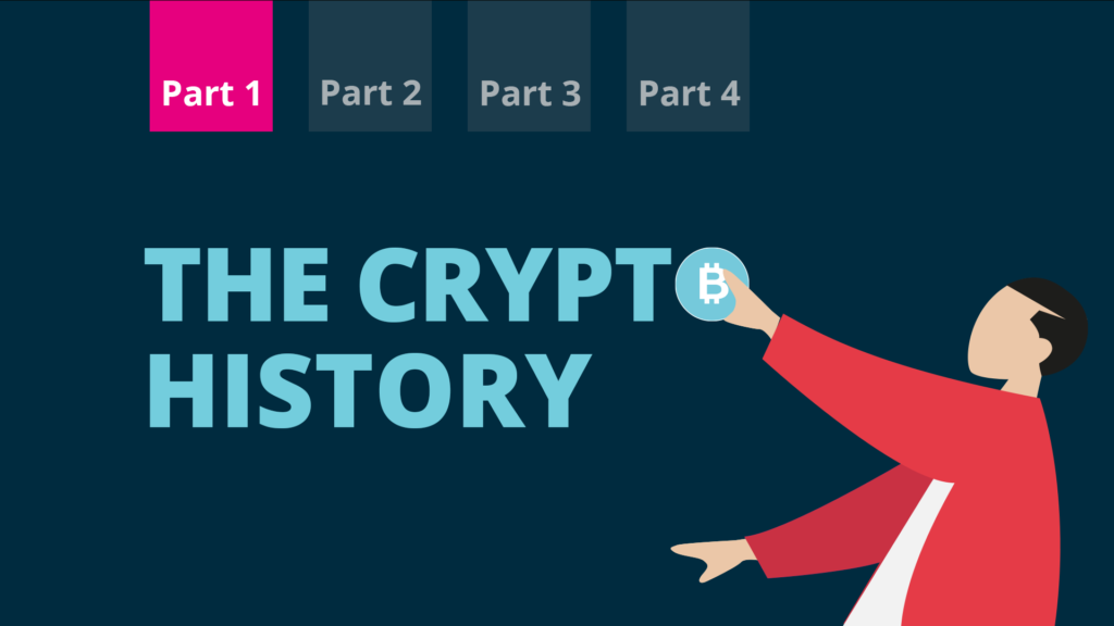 Blog post about the history of cryptocurrencies.