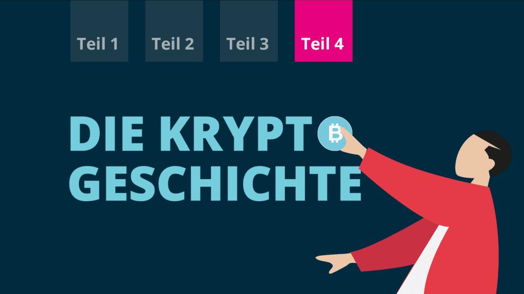 Blog der BISON App | Geschichte der Kryptowährungen Teil 4